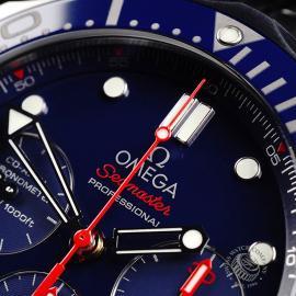 OM21919S Omega Seamaster Professional Chronograph Co-Axial Close3 1