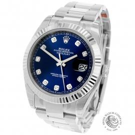 RO22305S Rolex Datejust 41 Unworn Back