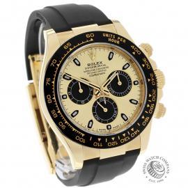 RO22580S Rolex Cosmograph Daytona 18ct Gold Cerachrom Unworn Dial