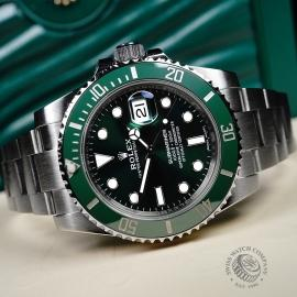 RO21728S Rolex Submariner Date Ceramic 'Hulk' Close10