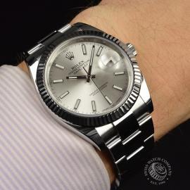 RO20850S Rolex Datejust 41mm Wrist 1