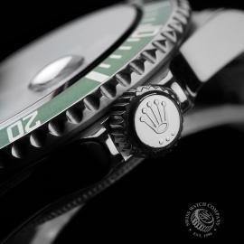 RO1958P Rolex Submariner Green Bezel Close 9