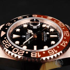 RO22050S Rolex GMT-Master II 18ct Everose Gold Close7 1