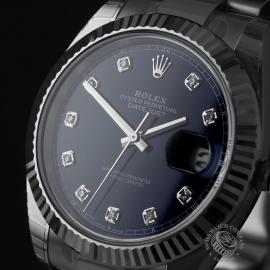 RO22305S Rolex Datejust 41 Unworn Close1