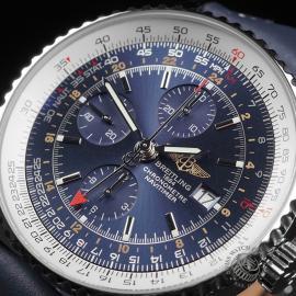 BR22662S Breitling Navitimer World Chrono GMT Close2