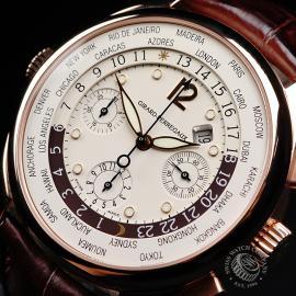 GP22191S Girard Perregaux World Time Chronograph 18ct Close2
