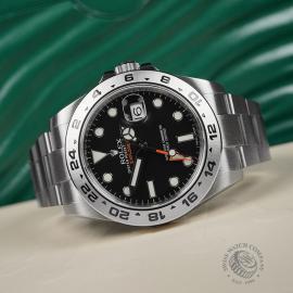 RO22374S Rolex Explorer II Orange Hand Close10