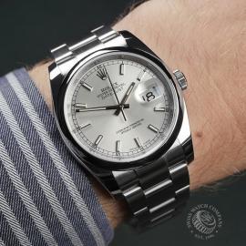 RO22537S Rolex Datejust 36 Wrist 1