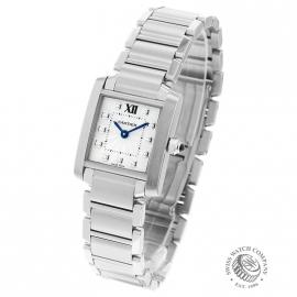 CA21054S Cartier Ladies Tank Francaise Small Model Back