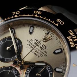 RO22580S Rolex Cosmograph Daytona 18ct Gold Cerachrom Unworn Close3