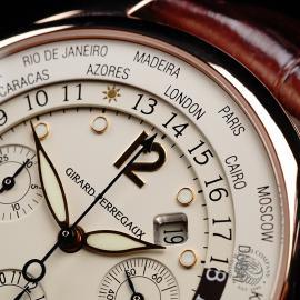 GP22191S Girard Perregaux World Time Chronograph 18ct Close3