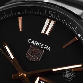 19803S Tag Heuer Carrera Calibre 5 Day Date Close7 1