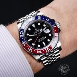 RO21787S Rolex GMT-Master II BLRO Wrist