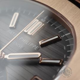 PK22578S Patek Philippe Nautilus Chronograph Rose Gold Close5