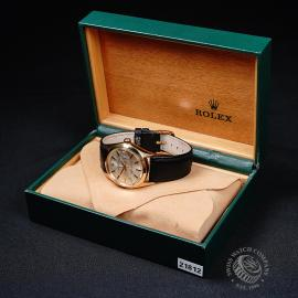 RO21812S Rolex Vintage Date 18ct Box