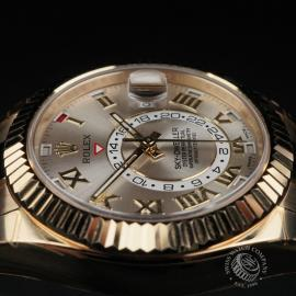 RO22332S Rolex Sky-Dweller 18ct Unworn Close6
