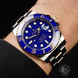 RO21898S Rolex Submariner Date Wrist
