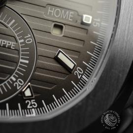 PA21109S Patek Philippe Nautilus Travel Time Chronograph Close7