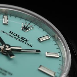 RO22454S Rolex Ladies Oyster Perpetual Unworn Close6