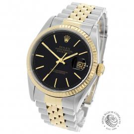RO21724S Rolex Datejust Back