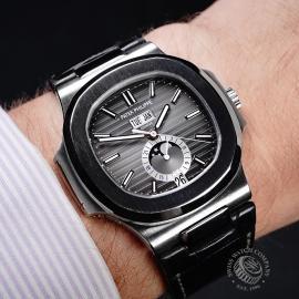 PK21759S Patek Philippe Nautilus Annual Calendar Moonphase Wrist