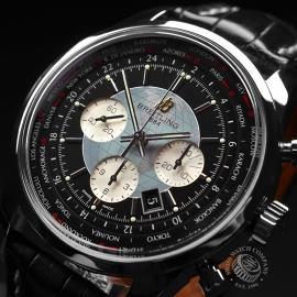 BR19708S Breitling Transocean Chronograph Unitime Close2