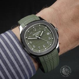 PK22579S Patek Philippe Aquanaut 18ct White Gold Wrist