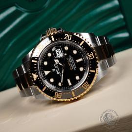 RO22038S Rolex Sea-Dweller Unworn Close10