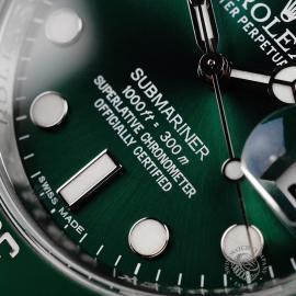 RO22172S Rolex Submariner Date Ceramic 'Hulk' Close5 1