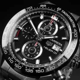 TA22562S Tag Heuer Carrera Calibre HEUER 01 Chronograph Close2