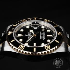 RO22288S Rolex Submariner Date Close6
