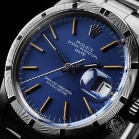 RO1891P Rolex Date Vintage Oyster Perpetual Close2