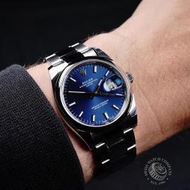 RO21737S Rolex Oyster Perpetual Date Wrist