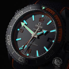 OM21772S Omega Seamaster Planet Ocean GMT 'Big Blue' Close1