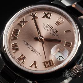 RO22560S Rolex Ladies Datejust Midsize Close2