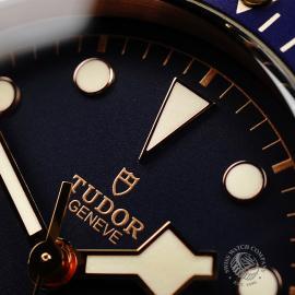 TU21992S Tudor Heritage Black Bay Bronze 'Bucherer Edition' Close3