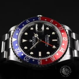 RO20324S Rolex GMT Master II - Stick Dial Close16