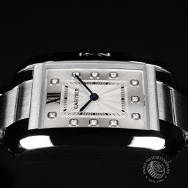 CA21925S Cartier Ladies Tank Anglaise  Close8