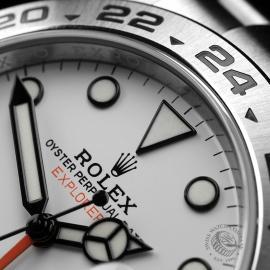 RO22284S Rolex Explorer II Orange Hand Close3