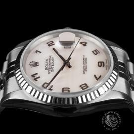 RO22548S Rolex Datejust 36 Close 6