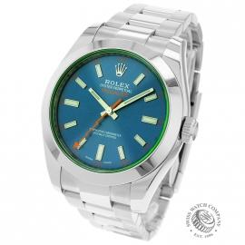 RO21189S Rolex Milgauss Anniversary - Green Glass Back