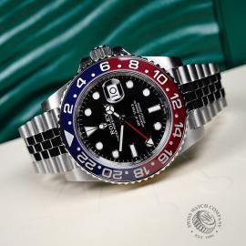 RO21787S Rolex GMT-Master II BLRO Close10
