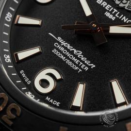 BR22775S Breitling Superocean 46 Blacksteel Close5
