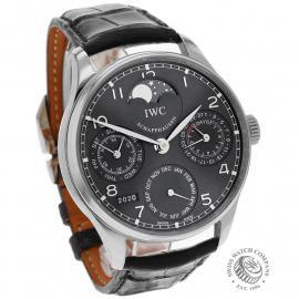 IW21936S IWC Portuguese Perpetual Calendar Dial