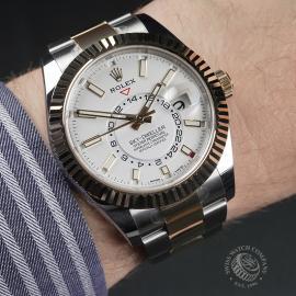 RO22517S Rolex Sky-Dweller Unworn Wrist