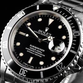 RO21827S Rolex Submariner Date Transitional Close 2