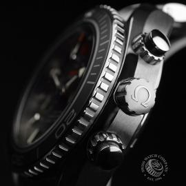 OM21024S Omega Seamaster Planet Ocean 600m Co Axial Chrono Close3