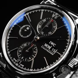 IW21825S IWC Portofino Chronograph Close2