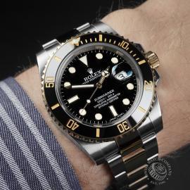 RO22521S Rolex Submariner Date Wrist 1