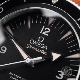 OM21657S Omega Seamaster 300 Master Co-Axial Close3